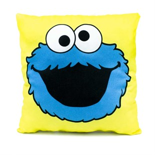 Cookie Monster Mini Dekoratif Yastık
