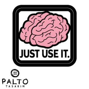 Just Use It Tekli Sticker