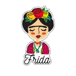Frida Tekli Sticker